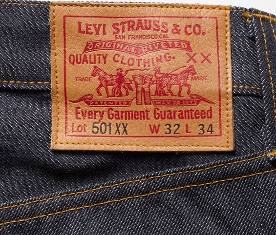 A Rough Guide To Levi's 501 Vintage Jeans - 1947 to 1966