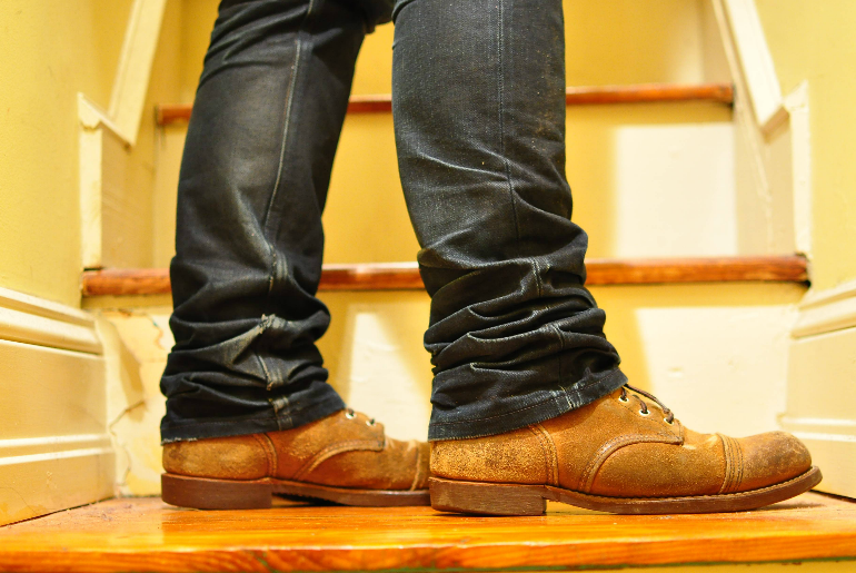 Fade of the Day – Red Wing Iron Ranger (5 years)