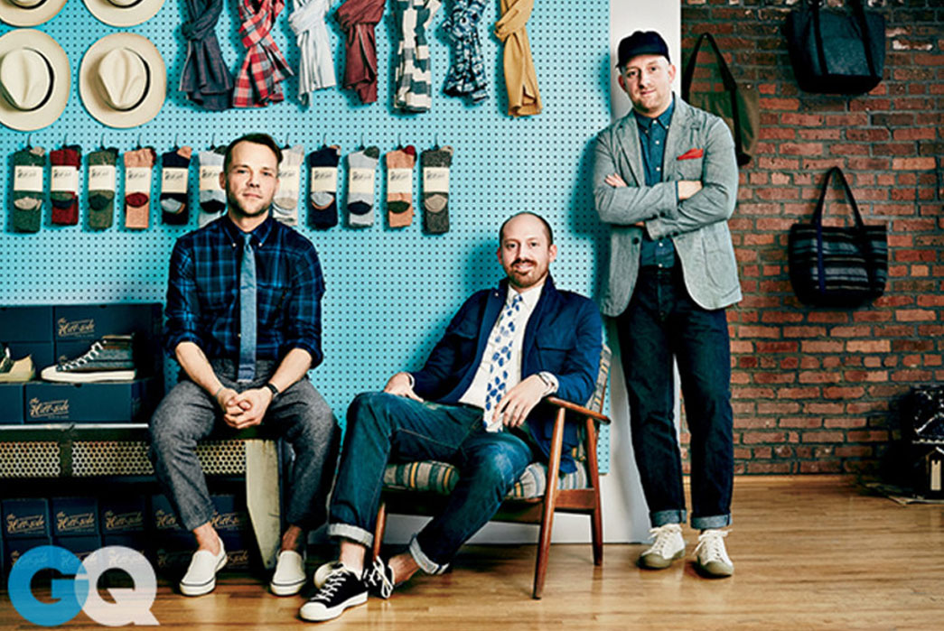 The Hill-Side one of GQ's Best New Menswear Designers
