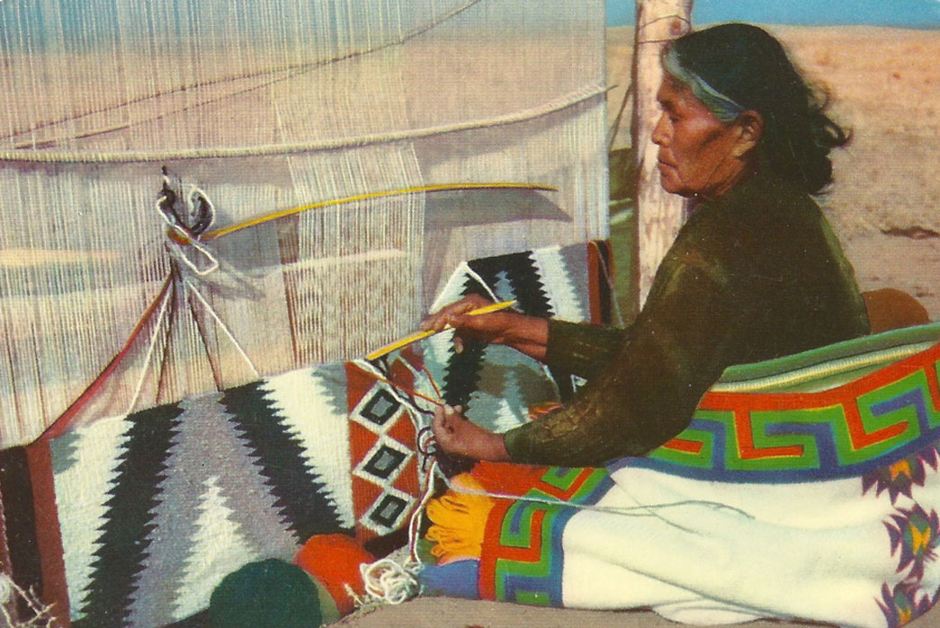 The Full History of Navajo Blankets and Rugs