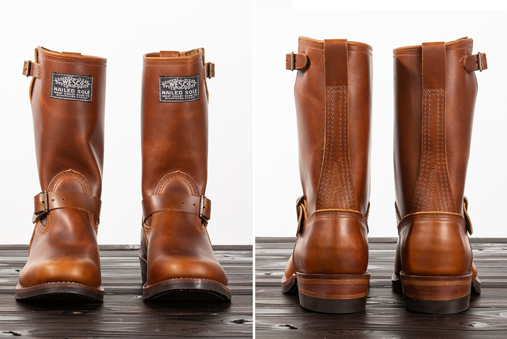 Wesco-Nails-Down-a-Century-of-Shoes-with-a-Special-Engineer-Boot-pair-front-side
